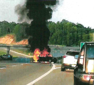 jeep-liberty-with-rear-gas-tank-burns-in-WV