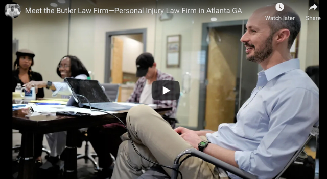 Meet the Butler Law Firm—Personal Injury Law Firm in Atlanta GA