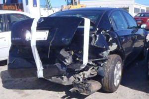 rear end collision damage